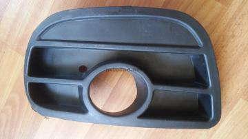 Заглушка противотуманной фары левая (с отверстием под ПТФ) Ланос Спорт