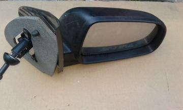 Зеркало правое механическое без подогрева черное в сборе Авео 3 Т250