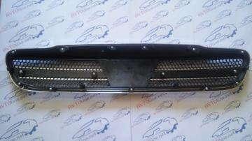 Решетка радиатора с крестом Шевроле Ланос
