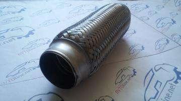 Гофра приёмной трубы 50х230 2-х слойная Авео