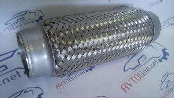 Гофра приёмной трубы 50х230 3-х слойная Авео