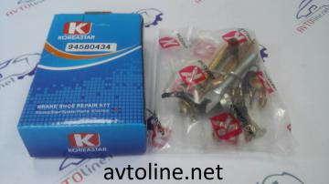 рем комплект зад торм колодок Матиз/Чери QQ KS(полный)правый 94580434