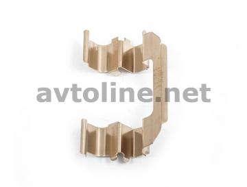 Пружина скобы суппорта передних колодок R13 Ланос 1.5