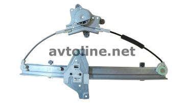 Стеклоподъемник (трапеция) электрический задний левый Лачетти