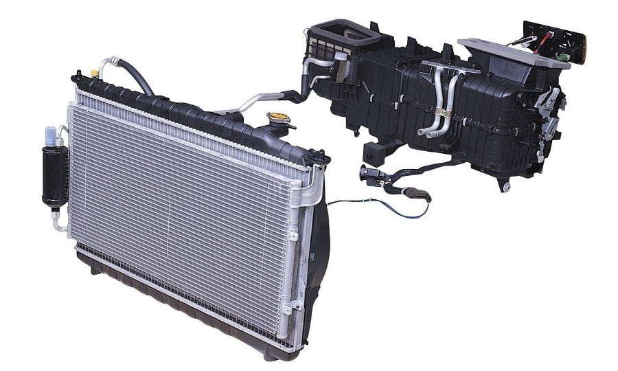 Emgrand EC-7 Система охлаждения