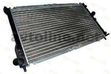 Радиатор охлаждения с кондиционером Ланос