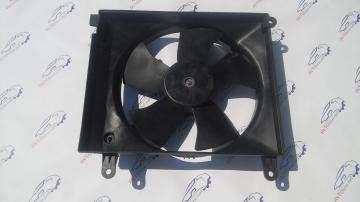 Вентилятор радиатора основной в сборе Ланос, Сенс с кондиционером