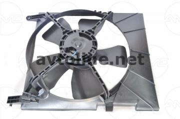 Вентилятор радиатора с кондиционером Авео Т250,Т255
