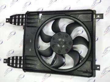 Вентилятор радиатора Авео Т250, Т255 с кондиционером после 2009 г.в