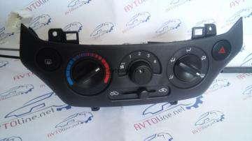 Блок управления отопителем (Черный) Авео 3 Т250