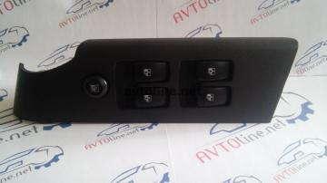 Блок управления стеклоподъемниками 4 кнопки Авео Т250
